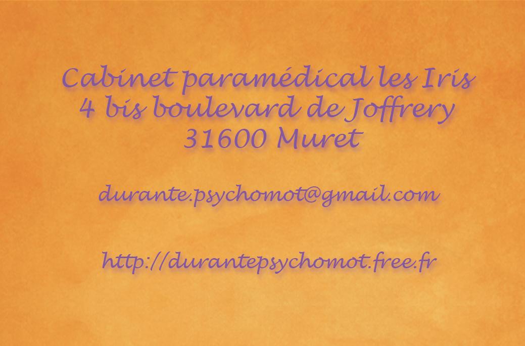 Celine DURANTE Psychomotricienne